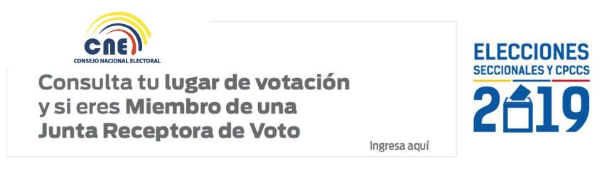 Consulta lugar de votación